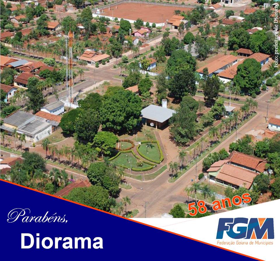 Diorama Goiás fonte: fgm-go.org.br