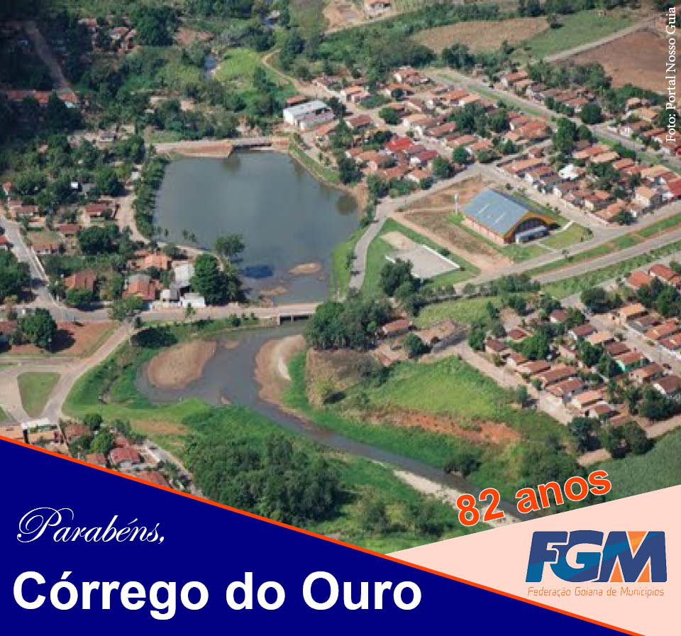 Córrego do Ouro Goiás fonte: fgm-go.org.br